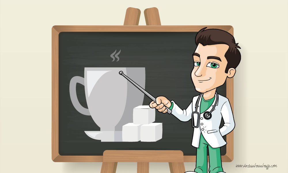 astuces boire un cafe ou the sans sucre