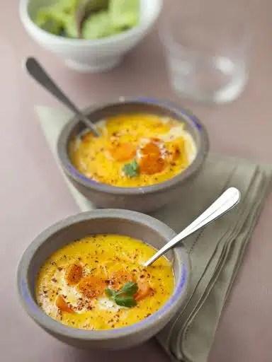 coriandre soupe