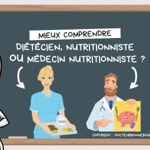 diététicien nutritionniste ou médecin nutritionniste