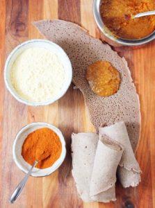 recette crêpes injera