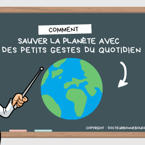 gestes pour sauver la planète