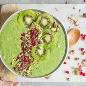bowlcake smoothie vert