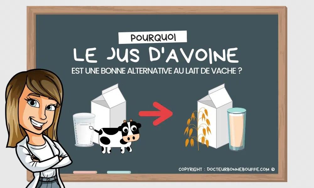 jus d'avoine alternative au lait de vache