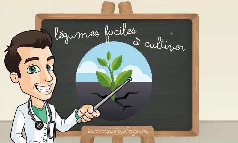 legumes faciles a cultiver