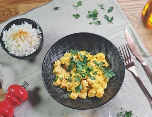 curry de patates douces recette