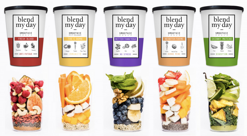 blend my day smoothies prêts-à-mixer