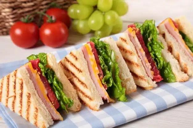 club sandwich apéro dinatoire
