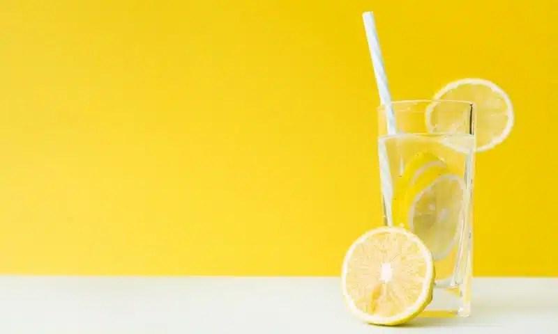 eau citronnée recette