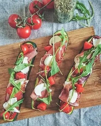 pizza courgettes recette