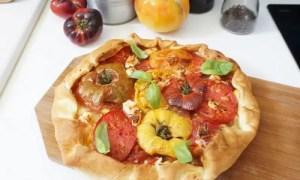 Recette facile : Tarte aux tomates anciennes