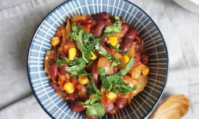 chili si carne recette vegetarienne
