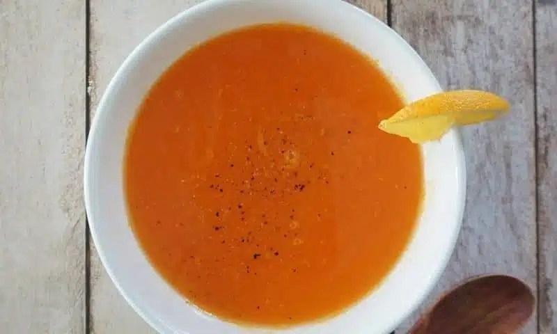 soupe carottes orange recette