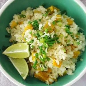 risotto potimarron recette facile