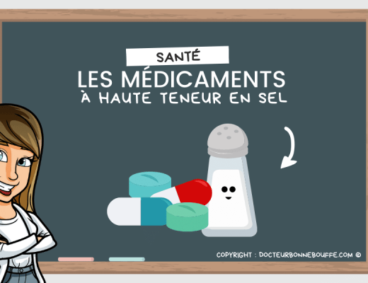 médicaments riches en sel