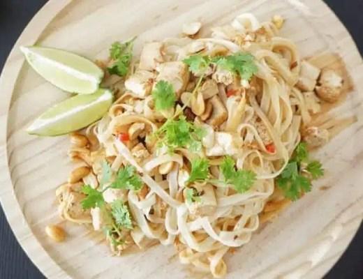 pad thaï tofu recette