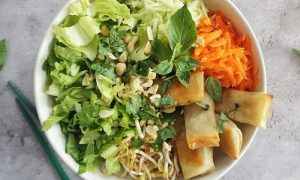 Recette de la Salade façon bobun