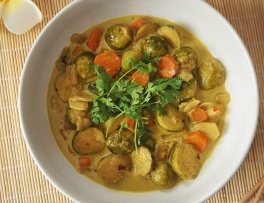 Choux de bruxelles curry recette