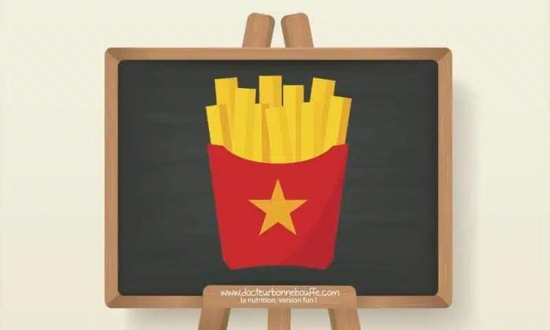 frites mcdonalds composition
