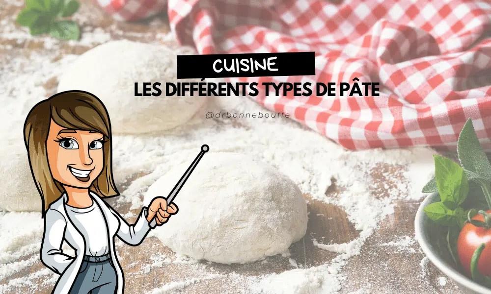 différents types de pâte