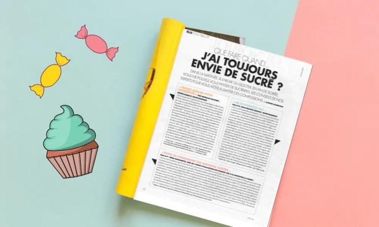 Parution presse – magazine ELLE 22 mai 2020 – envie de sucré
