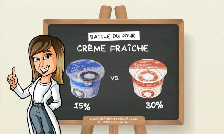 Crème fraîche épaisse 15% ou 30% de matières grasses : laquelle choisir ?