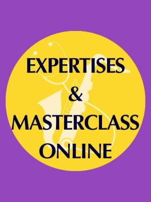 Expertises et masterclass online