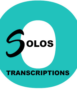 Transcriptions de solos