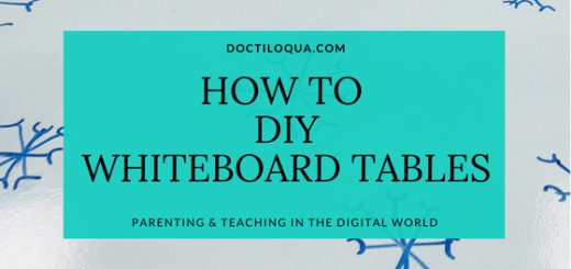 How to DIY Whiteboard Table