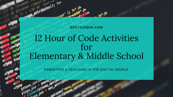 Hour of Code Activities for Elementary & Middle School