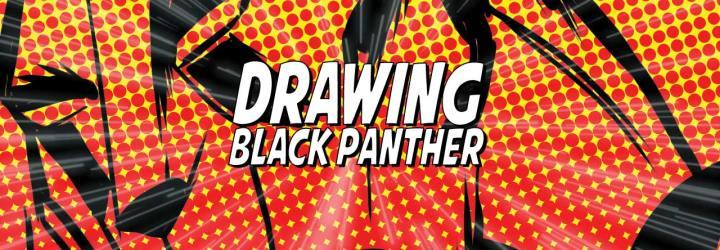 Digital Drawing: Black Panther