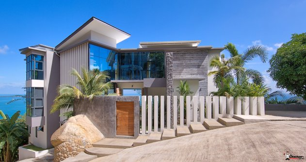 Amazing 6 Bedroom Villa with Sea View in Chaweng Noi - Koh Samui for sale