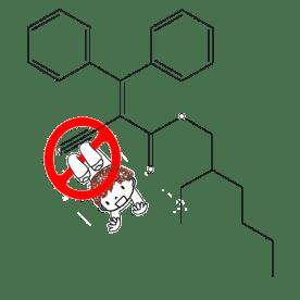 El octocrileno debería se prohibido para niños