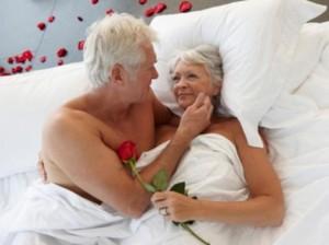 El amor y la pasión no conocen edad.