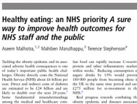 Healthy-eating--an-NHS-priority-A-sure-way-to-improve-health-outcomes-for-NHS-staff-and-the-public
