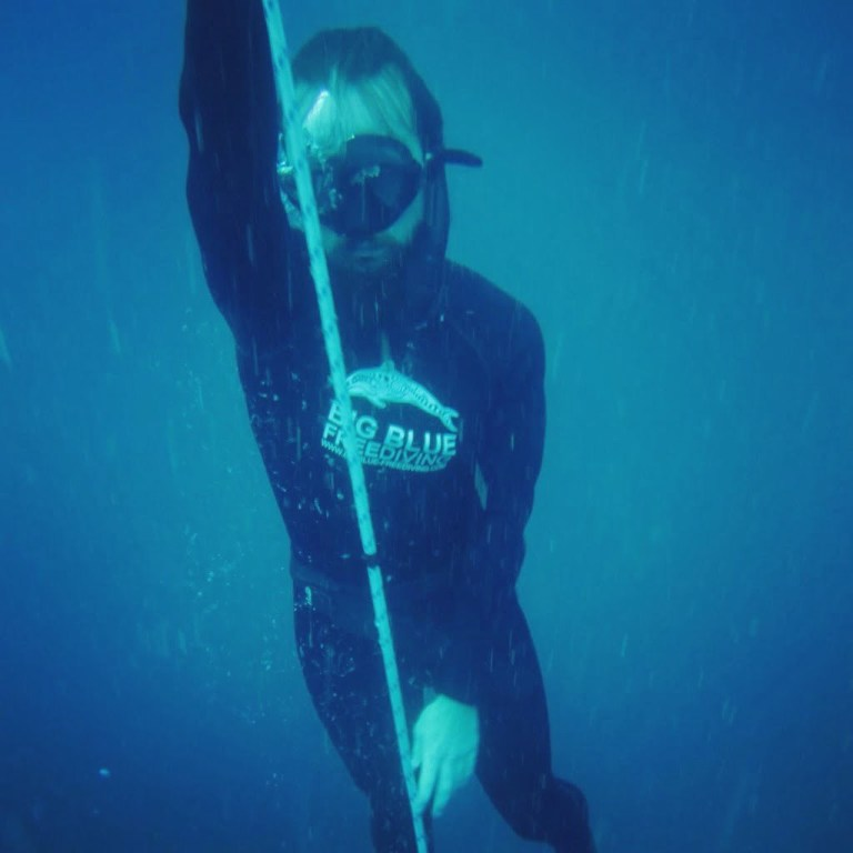 Me free-diving on my gap year