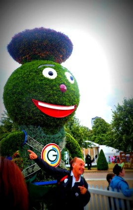 Floral Clyde at Glasgow Green during the Commonwealth Games