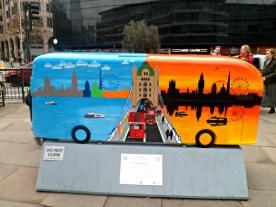 Twenty Four Seven bus sculpture, London