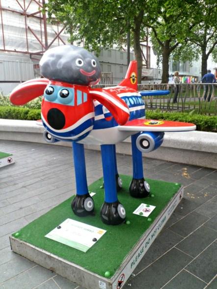 Shaun in the city London 5