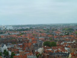 View across Bruges