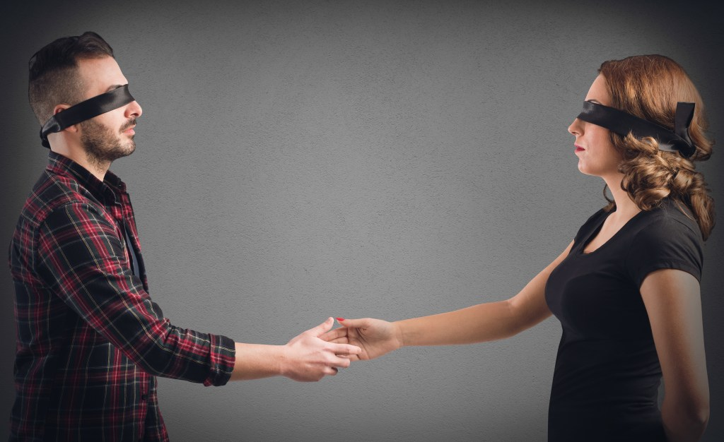 Interviewing is like multiple blind dates