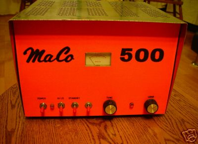 vintage MACO amps from auctions