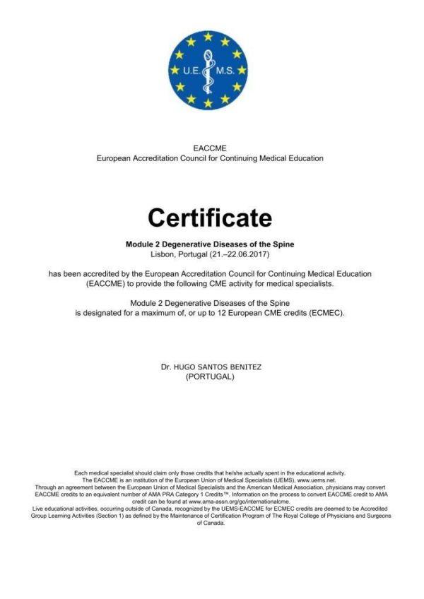 Iberian Diploma ( Spanish & Portuguese Spine Societies ...