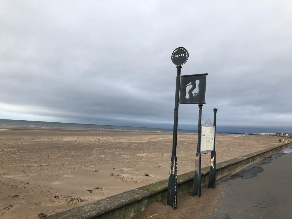 Start of Lang Scots Mile
