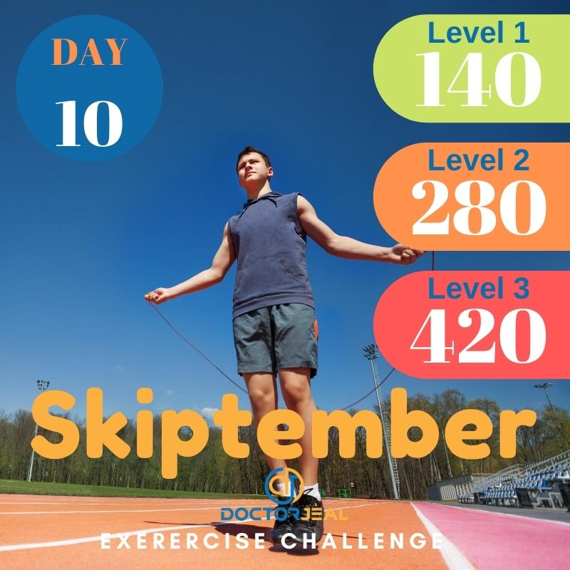 Skiptember Skipping Challenge - Male Day 10