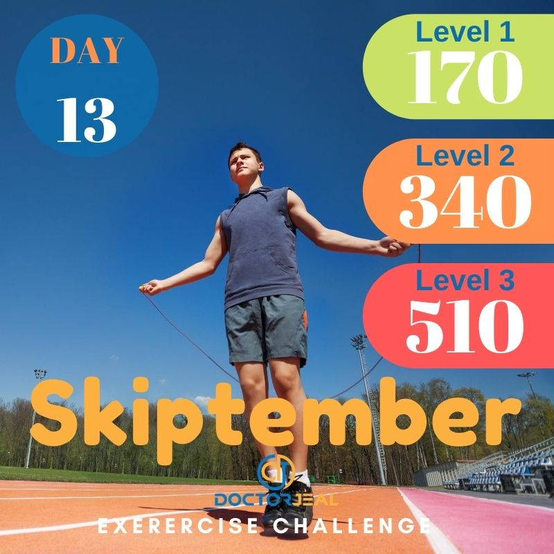 Skiptember Skipping Challenge - Male Day 13