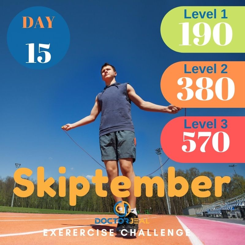 Skiptember Skipping Challenge - Male Day 15