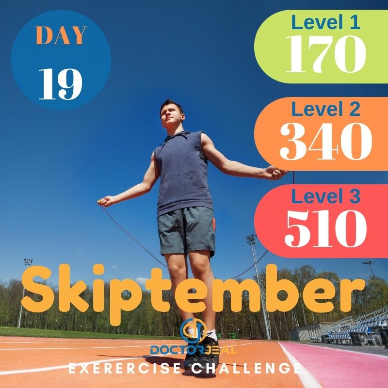 Skiptember Skipping Challenge - Male Day 19