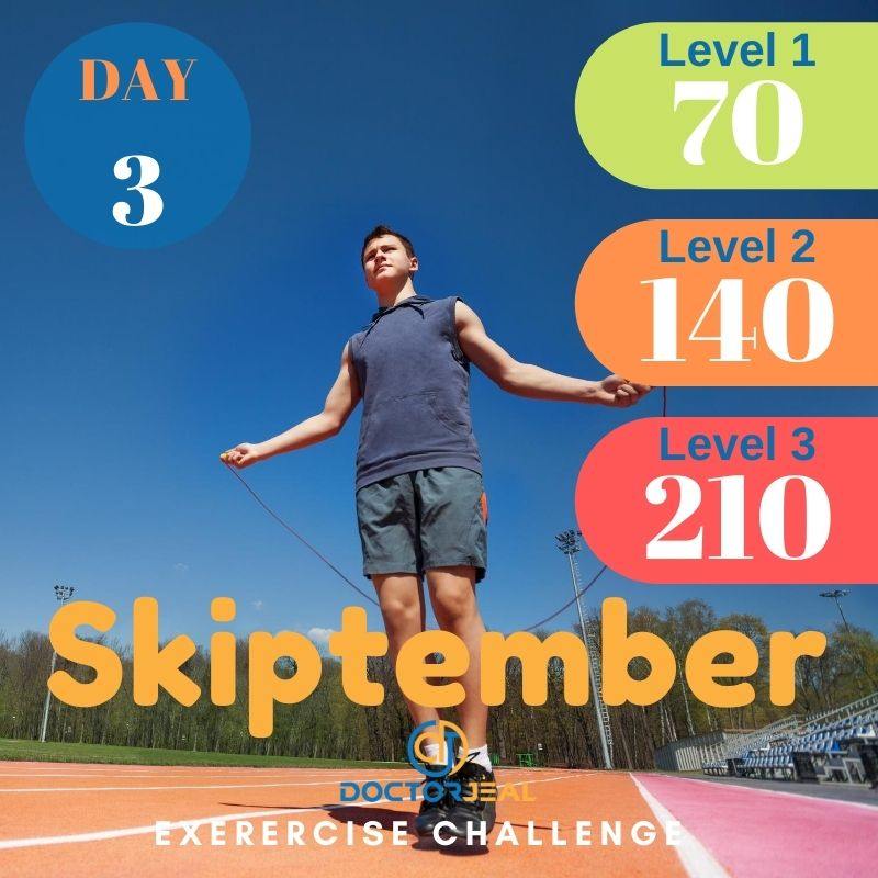 Skiptember Skipping Challenge - Male Day 3