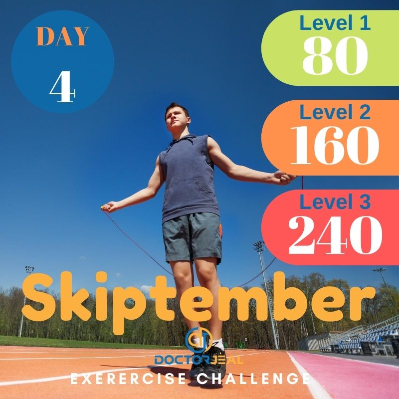 Skiptember Skipping Challenge - Male Day 4