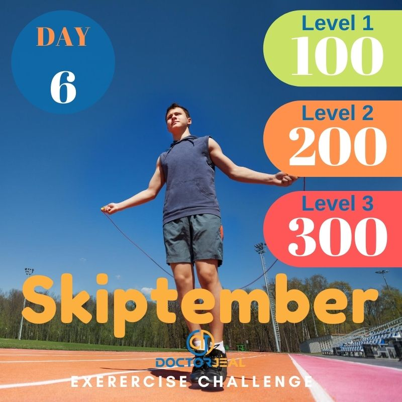 Skiptember Skipping Challenge - Male Day 6